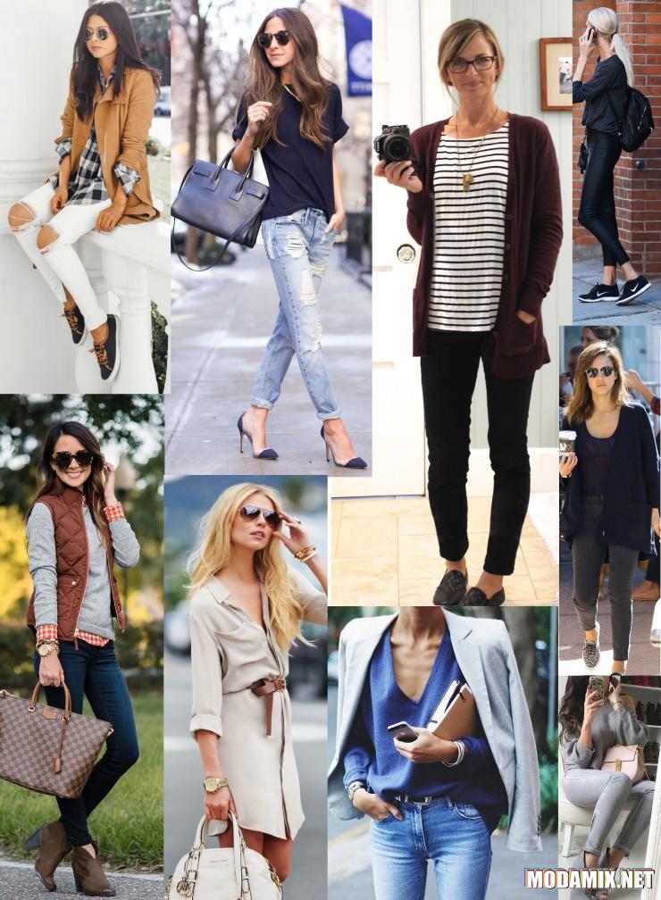 Стиль женская одежда