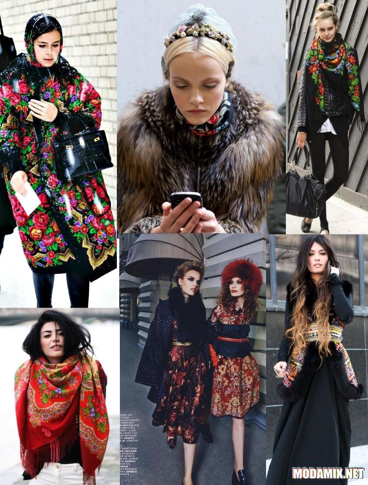 Уличная мода в русском стиле