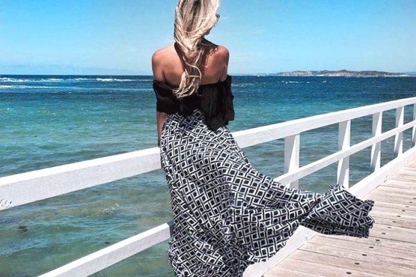 Длинная юбка - с чем носить?