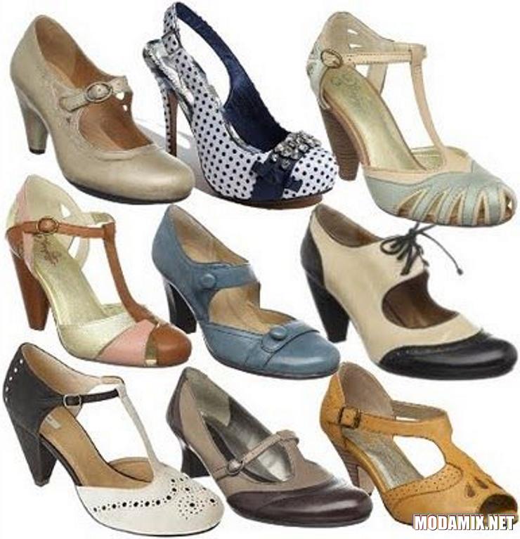 Обувь в стиле 40-х