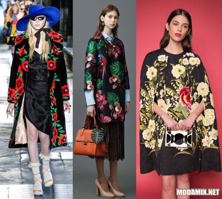 Модные женские пальто 2017 Весна