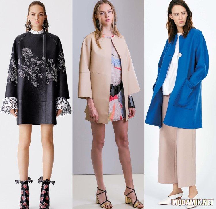 Пальто Мода Весна 2017