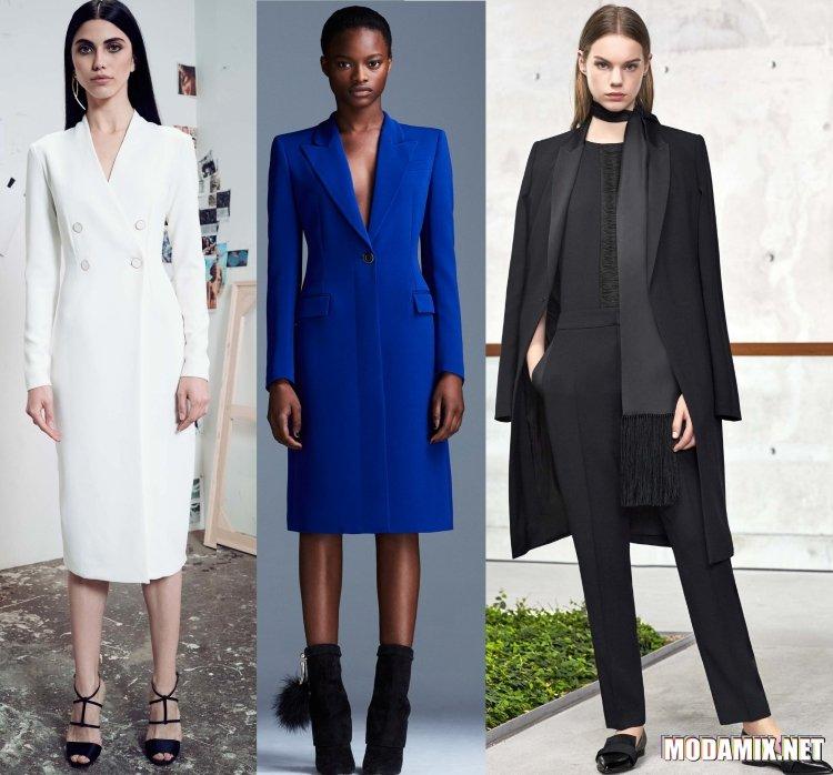 Модные плащи весна 2017 года