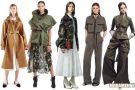 Женская одежда в стиле милитари 2017