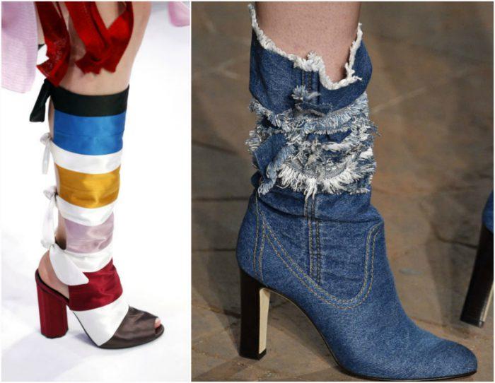 Модные сапоги в 2017 весна