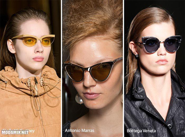 Модные очки женские 2017