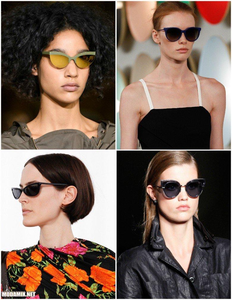 Солнцезащитные очки 2017 - кошачий глаз