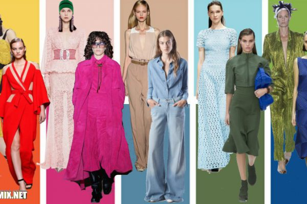 10 модных цветов одежды 2017 года