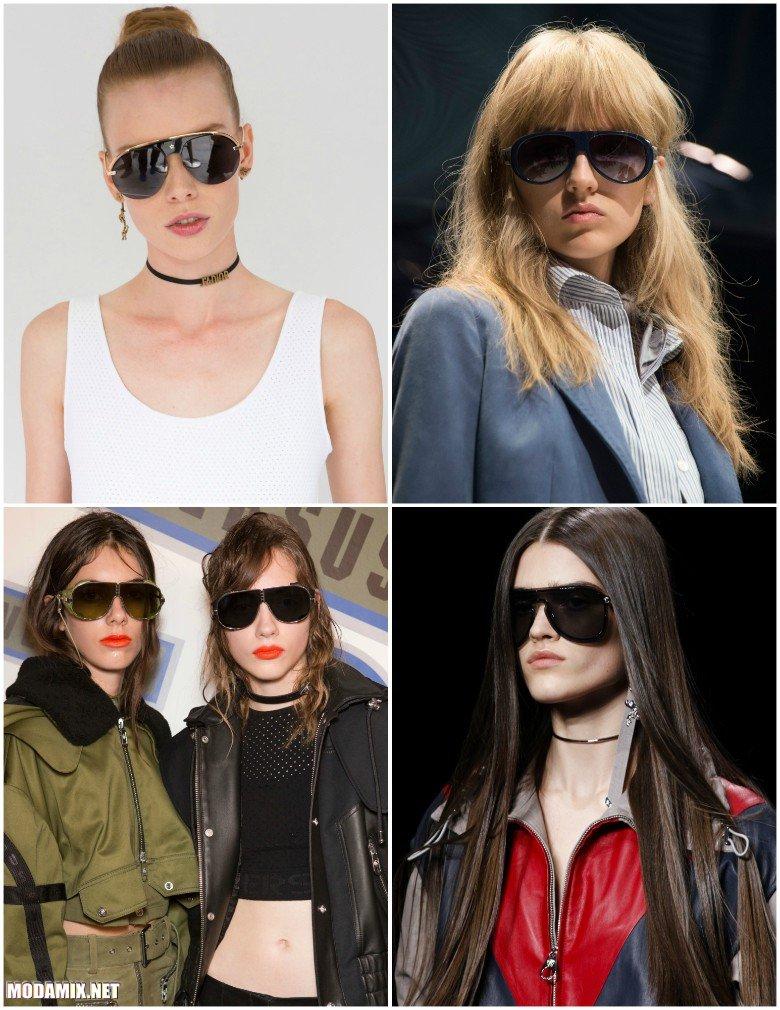 Солнцезащитные очки авиаторы 2017 года