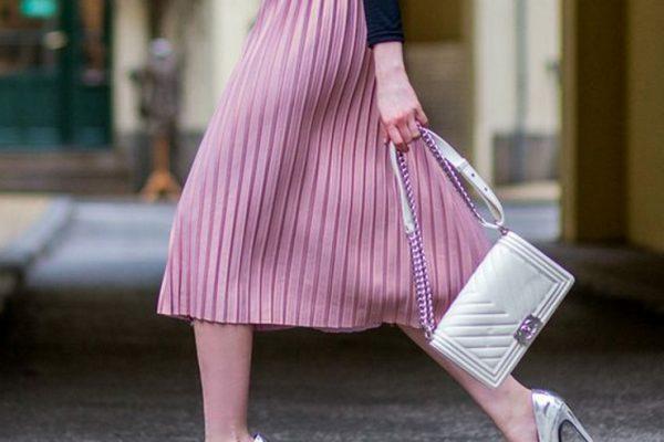 С чем можно носить плиссированную юбку?