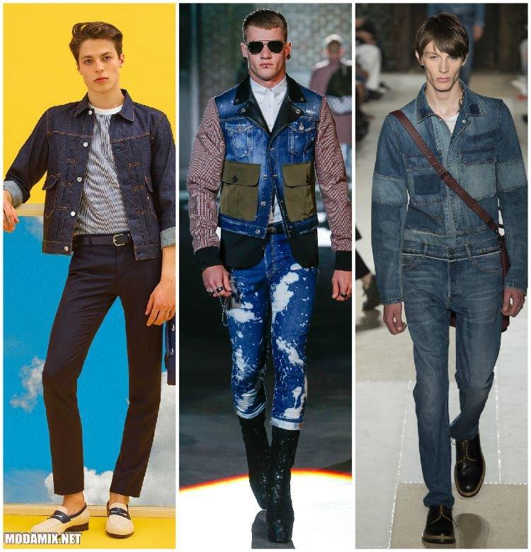 Мужские куртки из денима