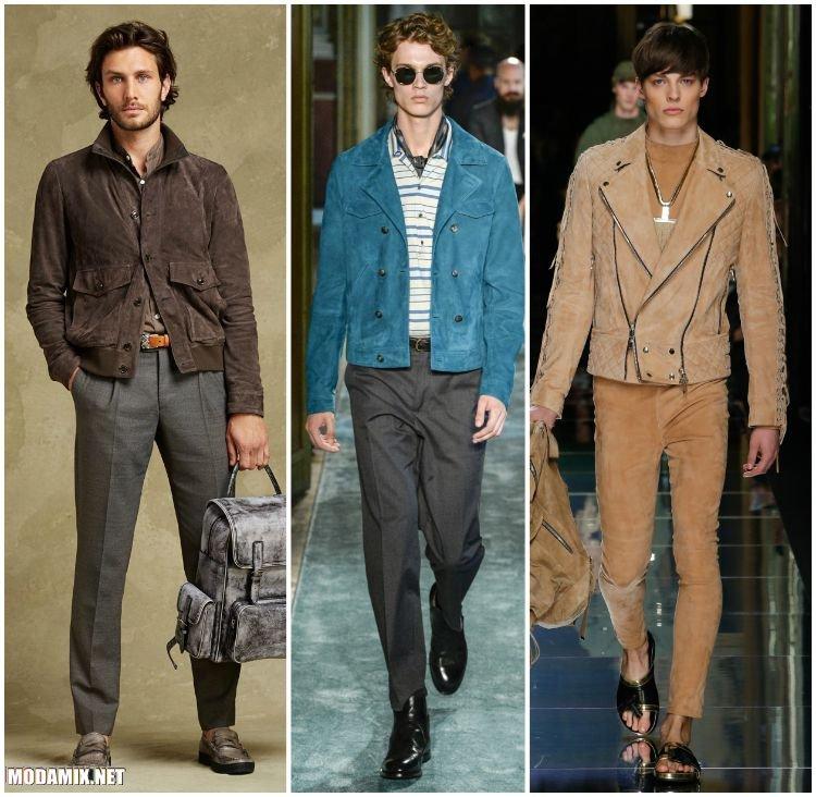 Замшевые куртки для мужчин