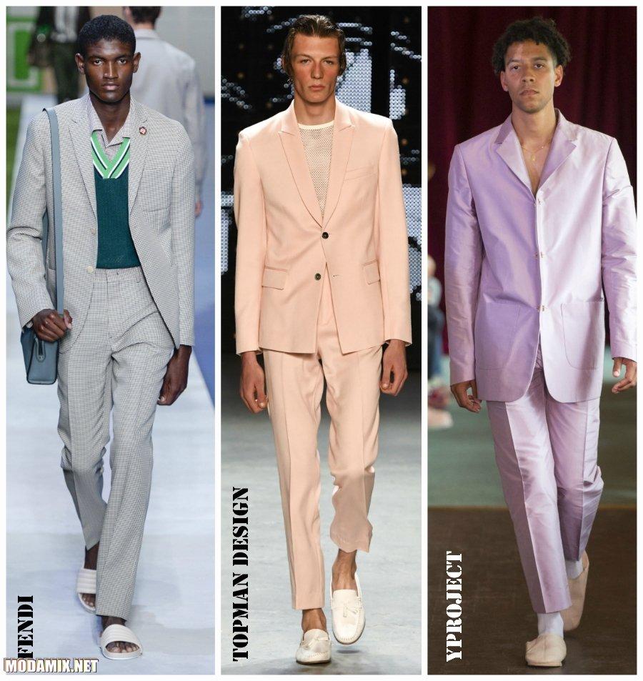 Модные мужские костюмы 2017 года