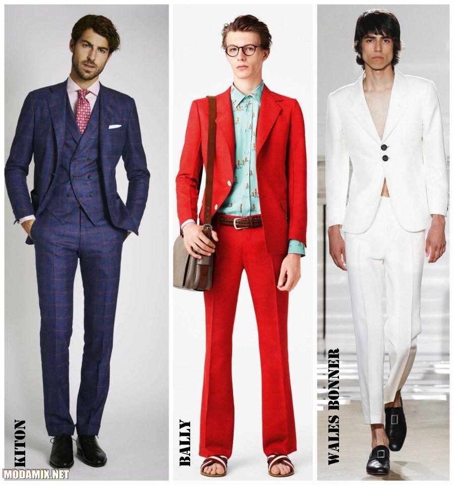 Модные мужские костюмы 2017 фото облегающих фасонов