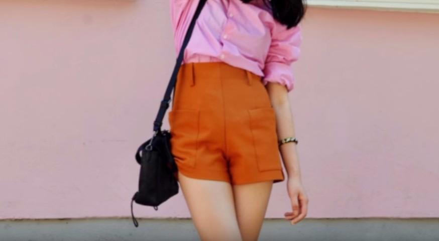 Оранжевое платье что с ним носить