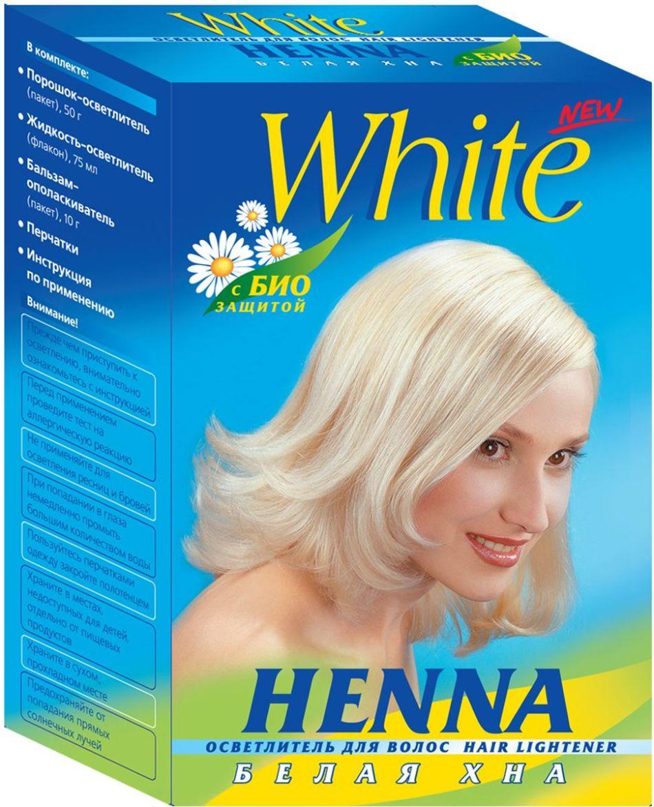 Белая хна для осветления бровей
