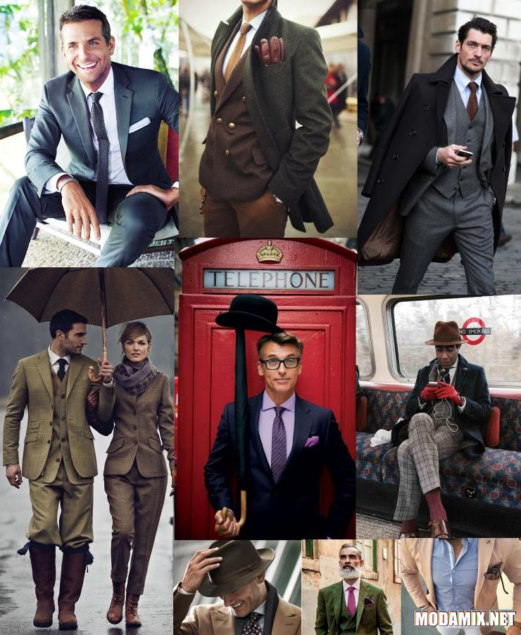 Одежда в английском стиле для мужчин