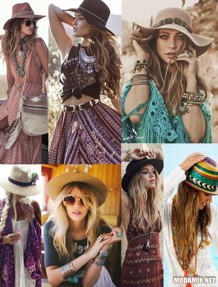 Шляпы и панамки в стиле хиппи