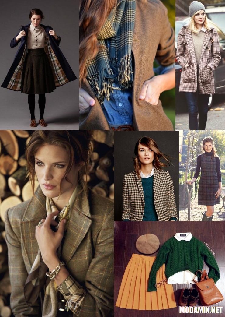 Одежда в английском стиле