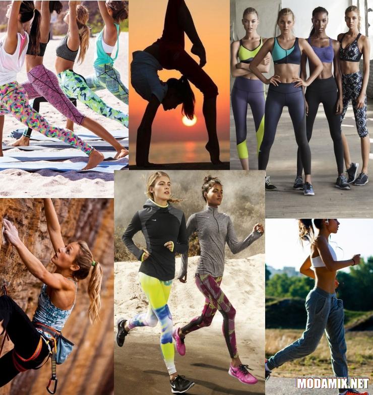 Спортивная одежда для разных видов спорта