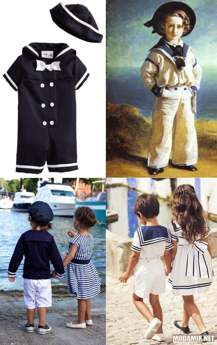 Как появился морской стиль в одежде?