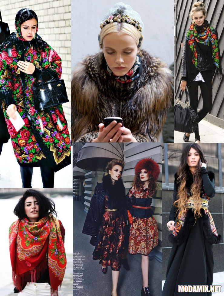 Русский стиль в одежде фото примеров женского образа f9bcade6c38