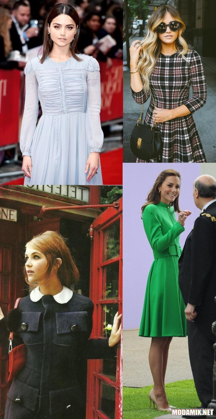 Платья в английском стиле
