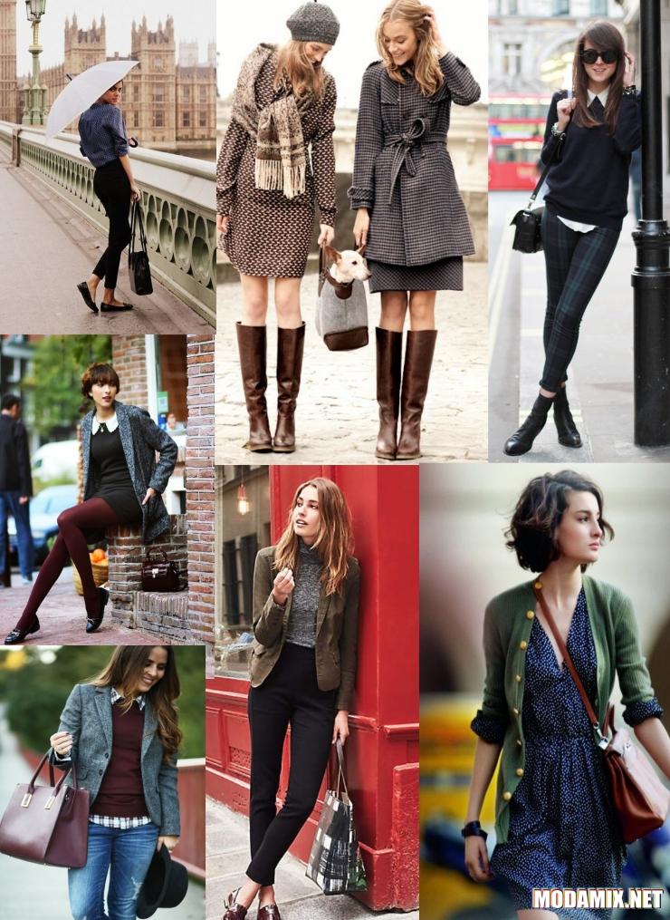 Кому идет английский стиль в одежде?