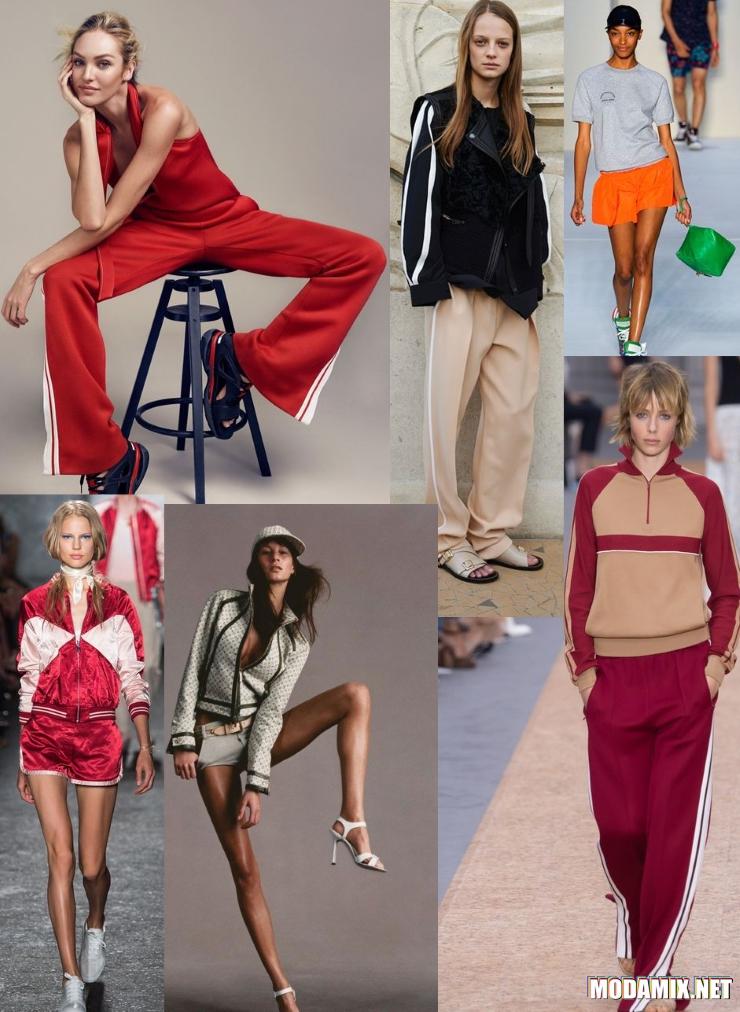 Коллекции спортивной одежды