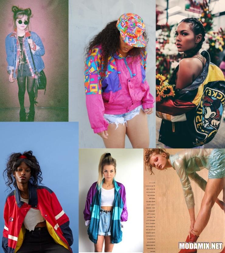 Клубная одежда 90-х годов