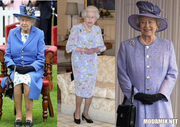 Стиль королевы Элизабет