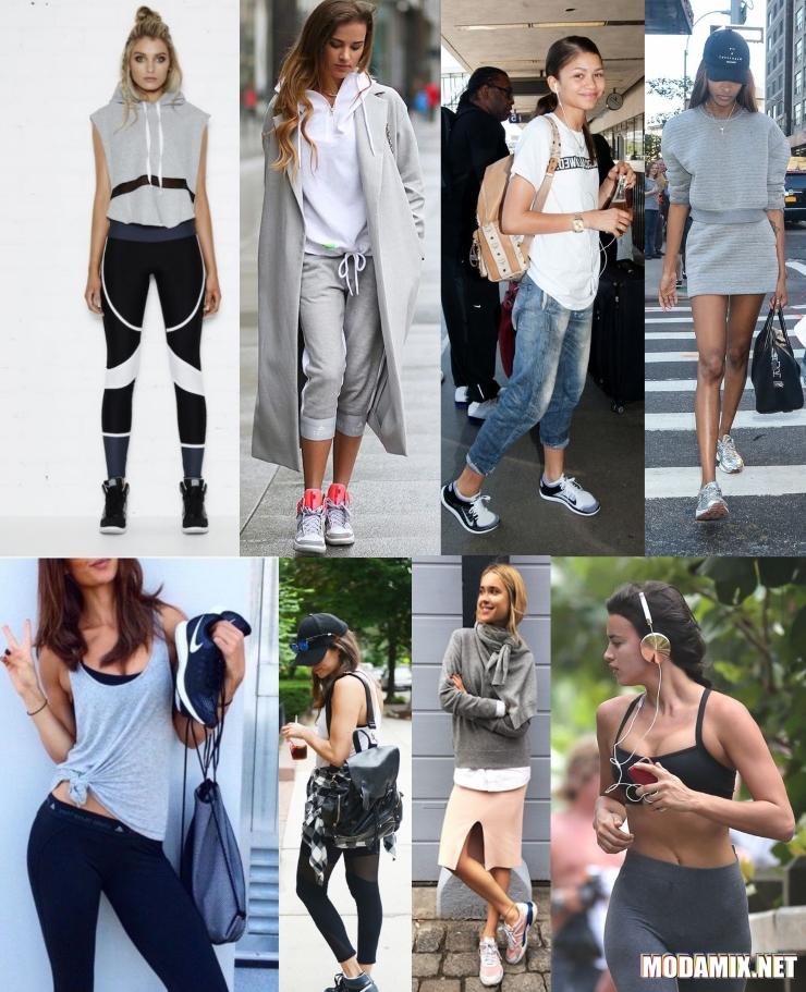 Спортивная одежда на улицах