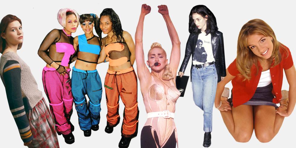 Стиль 90-х на примере знаменитостей