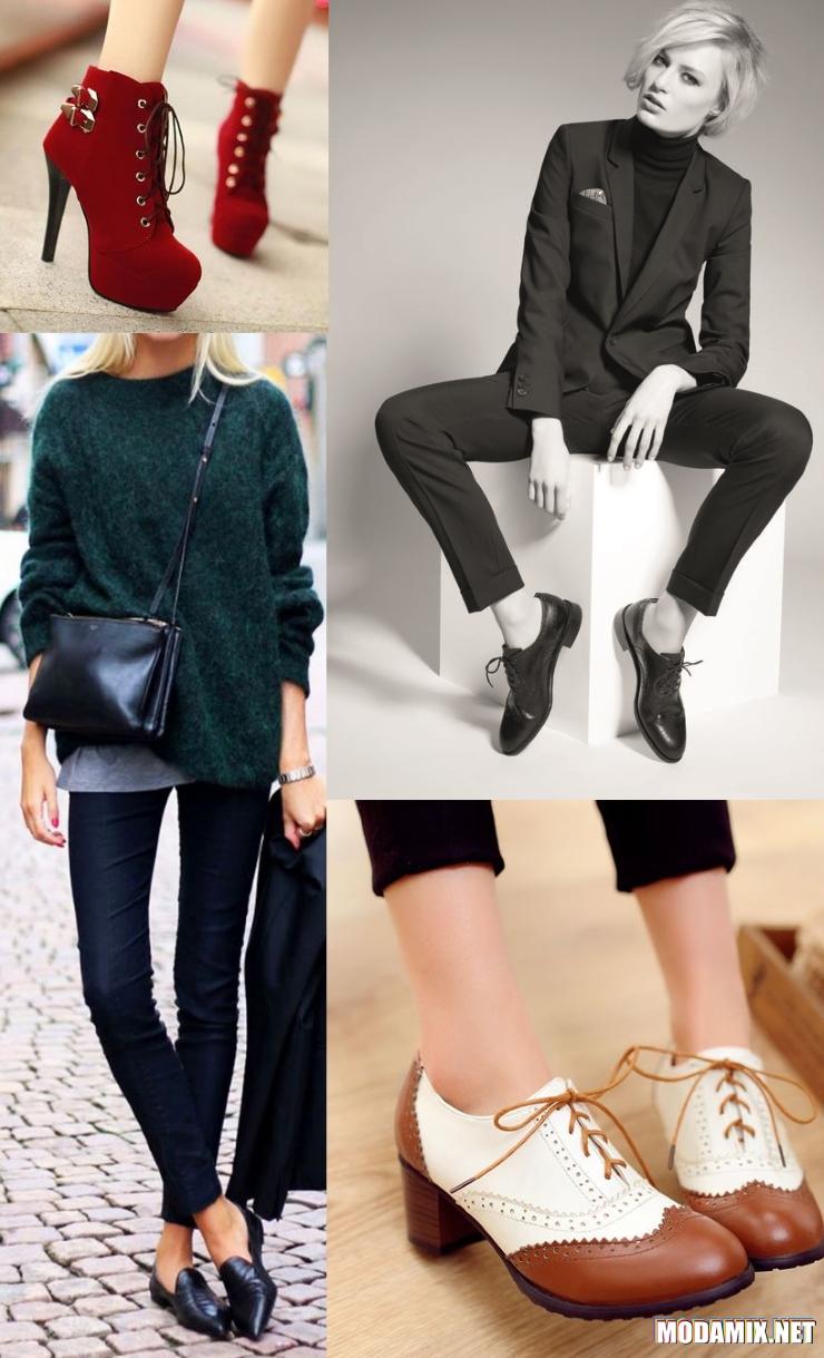 Английский стиль в обуви