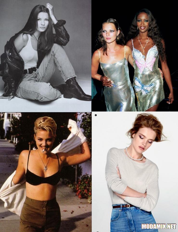 Знаменитые женщины 90-х
