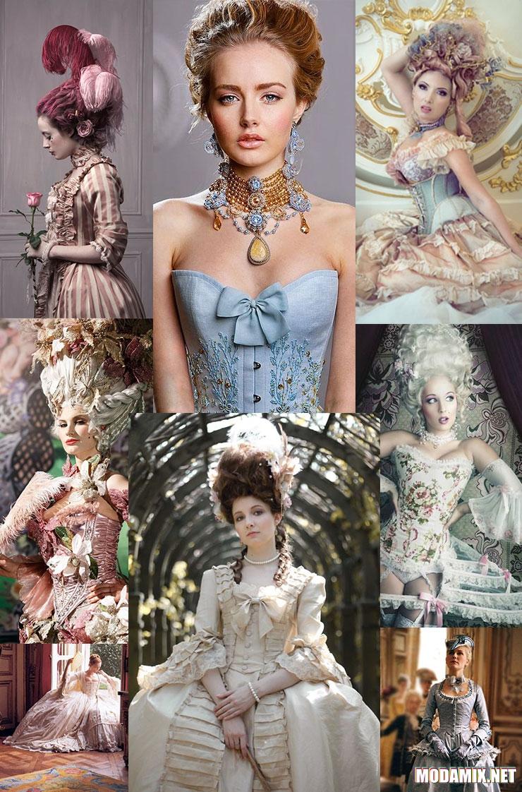 Платья в стиле Рококо