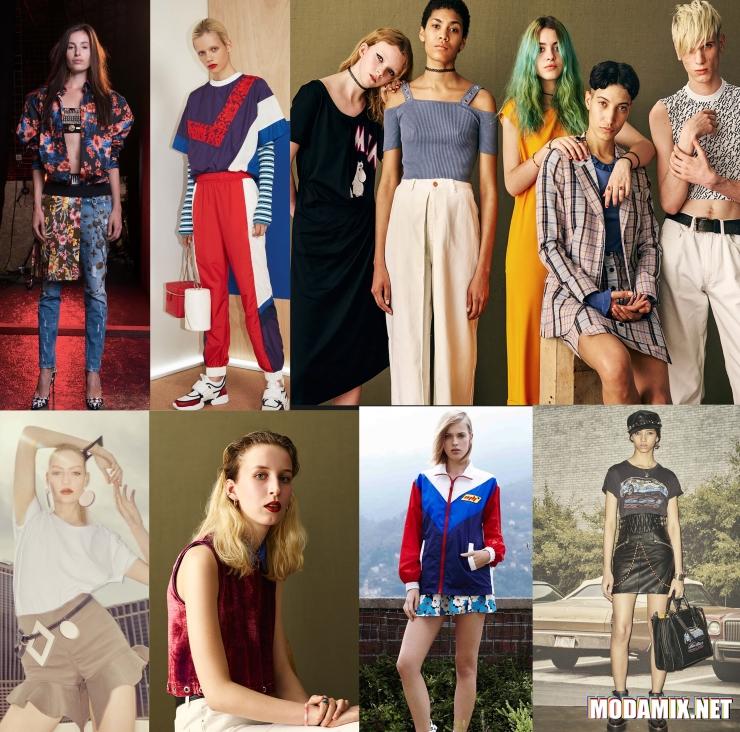 Стиль 90-х в моде весной 2017