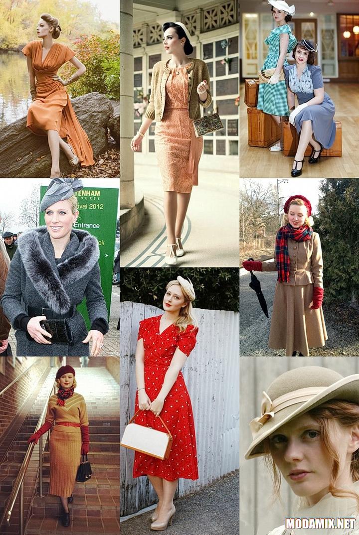 Стиль 30-х в повседневной одежде