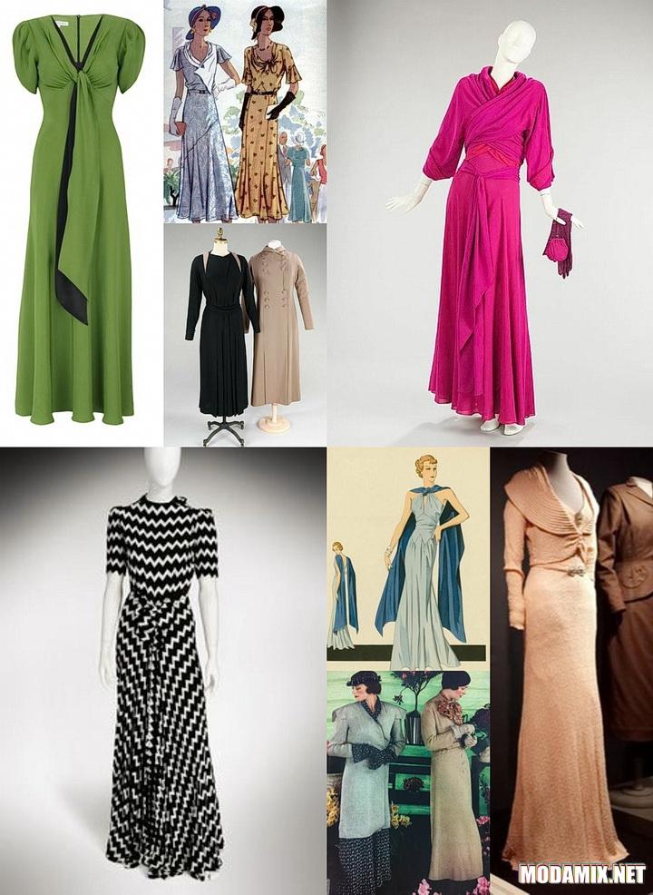 Стиль 30-х в женской одежде