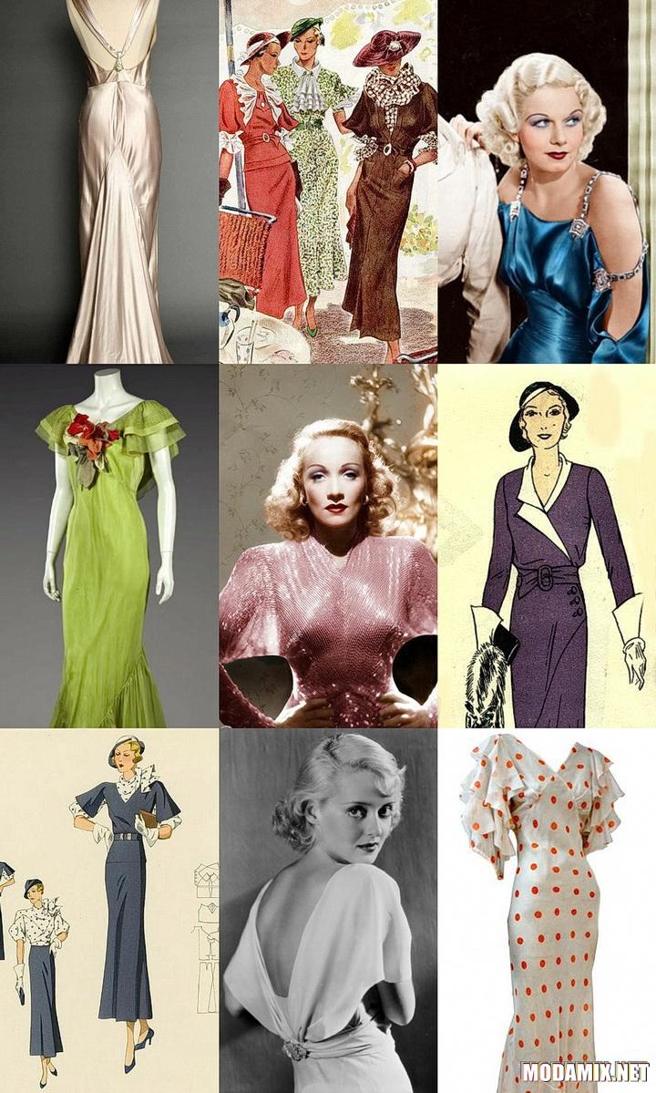 Стиль 30-х в женском образе