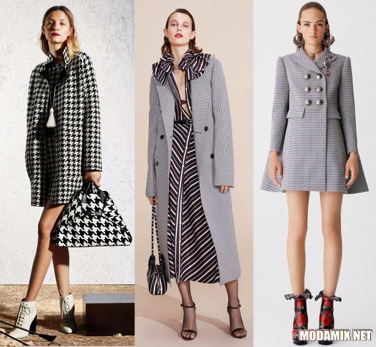 Женское пальто на весну 2017 года
