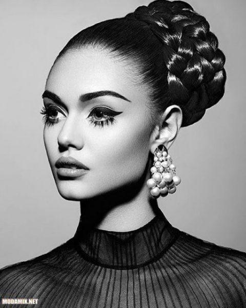 Модный макияж бровей 2017