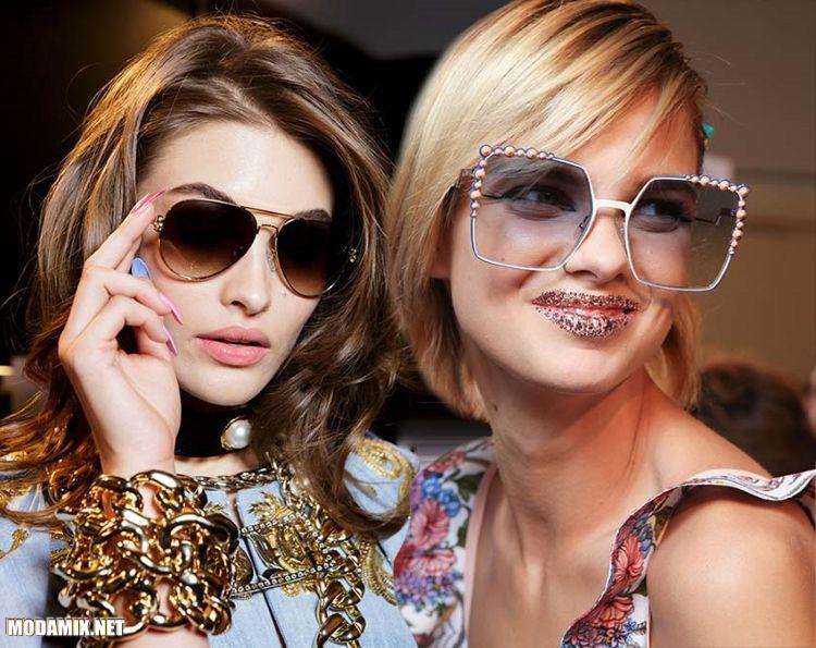 Мода на очки от солнца в 2017 году