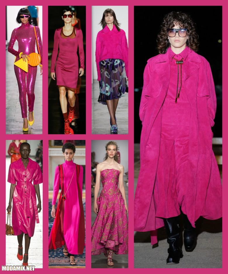 Женская одежда оттенка Розовый тысячелистник
