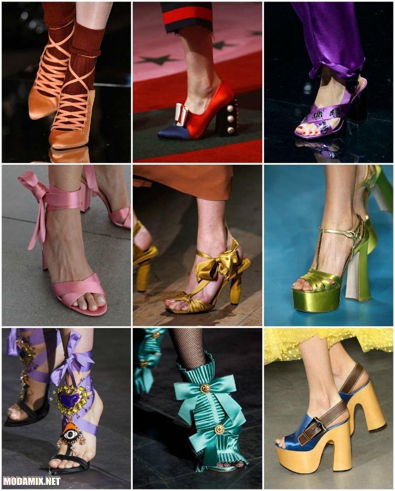 Модная обувь на весну 2017