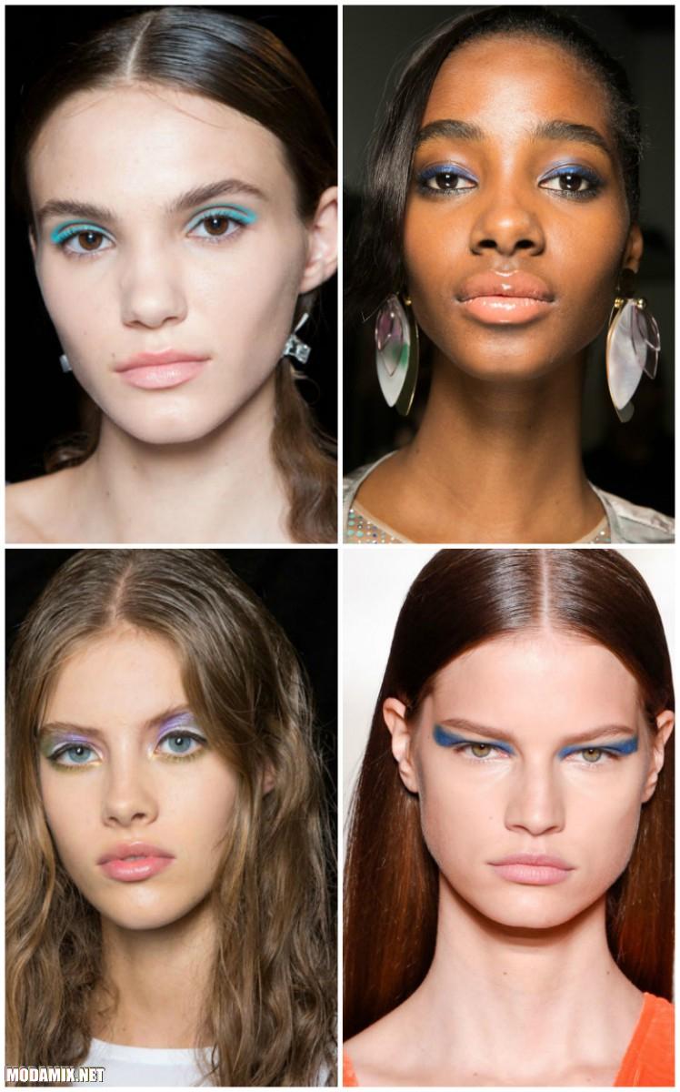Весенний макияж глаз 2017