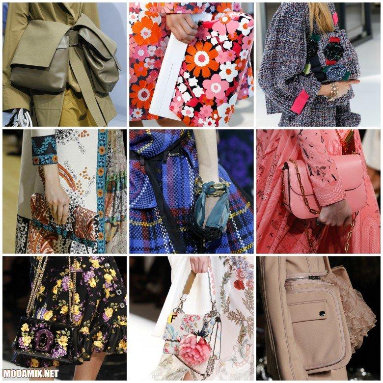 Модные сумки 2017 весна