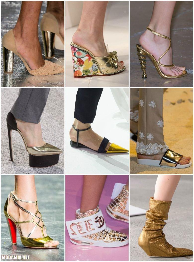 Золотая обувь 2017 Весна Лето