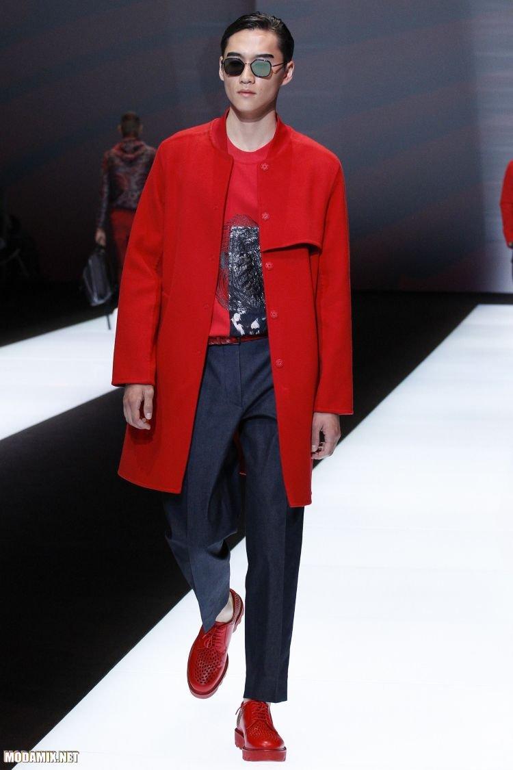Фото ярких пальто для мужчин 2017
