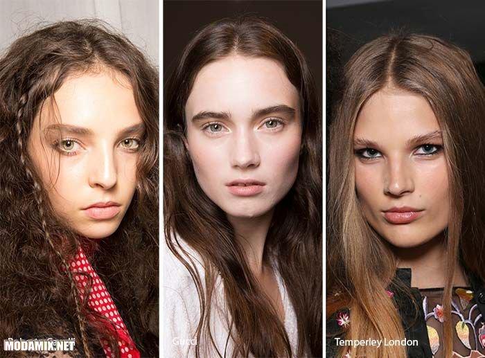 Модный цвет волос 2017 -- насыщенный коричневый